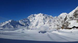 Macugnaga-Monterosa: 1a Partita di Calcio al Monte Moro, 2800 metri di quota – Campionato Europeo di calcio riservato ai paesi di montagna