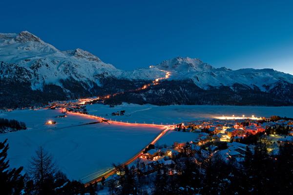 sciare sabato sera