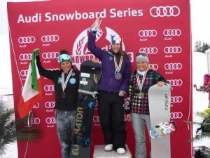 podio coppa europa, Michela Moioli