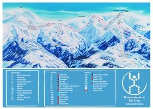 mappa impianti Montecampione