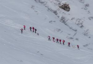 Ciaspolatori in Val Formazza - Foto Luigi Framarini